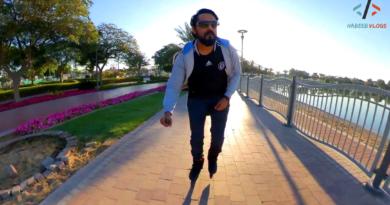 Al Barsha Pond Park Dubai Rollerskating